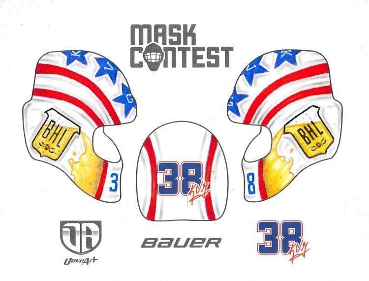 Mask Contest Winner