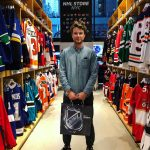 Here's me at the NHL store in NYC